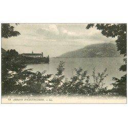 carte postale ancienne 73 ABBAYE D'HAUTECOMBE. LL 1927