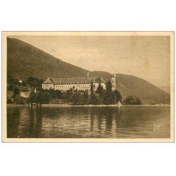 carte postale ancienne 73 AIX-LES-BAINS. Abbaye Hautecombe 1935
