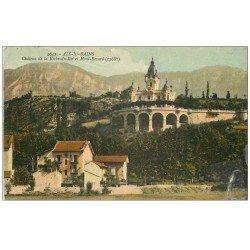 carte postale ancienne 73 AIX-LES-BAINS. Château de la Roche-du-Roi 1914