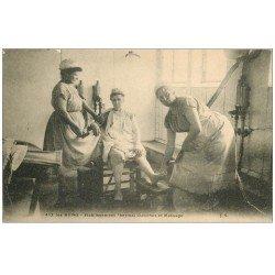 carte postale ancienne 73 AIX-LES-BAINS. Douches et Massage de Femmes Etablissement Thermal