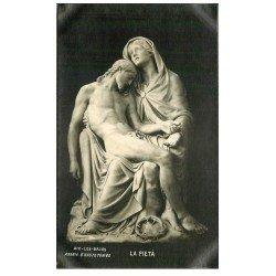 carte postale ancienne 73 AIX-LES-BAINS. Hautecombe La Pieta à l'Abbaye