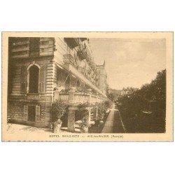 carte postale ancienne 73 AIX-LES-BAINS. Hôtel Beau-Site