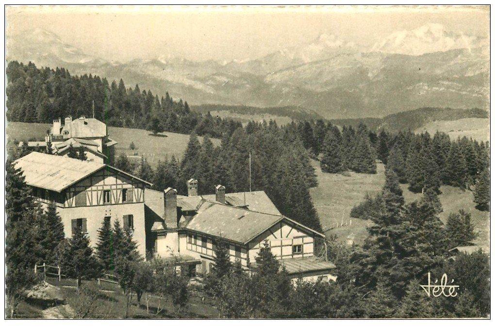 carte postale ancienne 73 AIX-LES-BAINS. Hôtel P.L.M du Revard. edition Télé