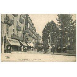 carte postale ancienne 73 AIX-LES-BAINS. Joaillier Rue du Casino
