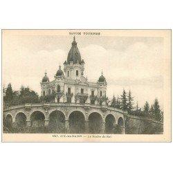 carte postale ancienne 73 AIX-LES-BAINS. La Roche du Roi