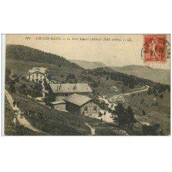 carte postale ancienne 73 AIX-LES-BAINS. Le Mont Revard 1919