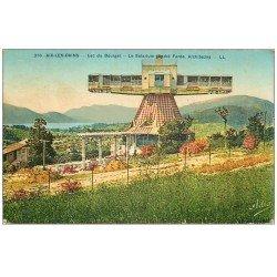 carte postale ancienne 73 AIX-LES-BAINS. Le Solarium 1935