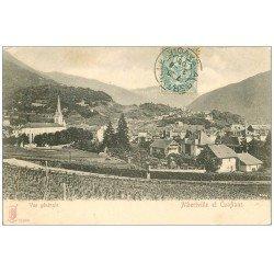 carte postale ancienne 73 ALBERTVILLE ET CONFLANS. 1905