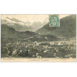 carte postale ancienne 73 ALBERTVILLE. Vue 1905