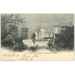 carte postale ancienne 73 BARBY. Château de la Bâtie près Chambéry 1903