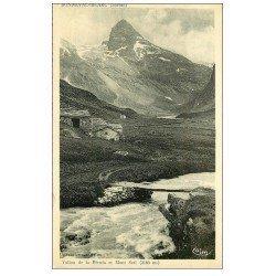 carte postale ancienne 73 BONNEVAL-SUR-ARC. Vallon Recula et Mont Seti