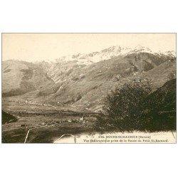 carte postale ancienne 73 BOURG-SAINT-MAURICE. Route Petit Saint-Bernard 1928