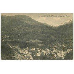 carte postale ancienne 73 BRIDES-LES-BAINS. La Gorge-aux-Pigeons 1912