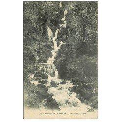 carte postale ancienne 73 CASCADE DE LA SERRAZ