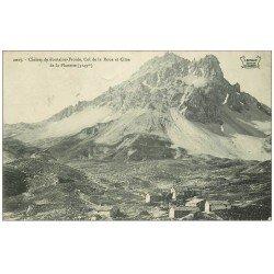 carte postale ancienne 73 CHALETS DE FONTAINE-FROIDE. Col Roue Cime Planette 1908