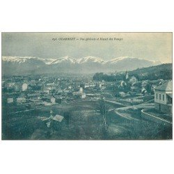 carte postale ancienne 73 CHAMBERY. Massif des Bauges 1924