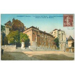 carte postale ancienne 73 CHAMBERY. Monument Maistre 1932