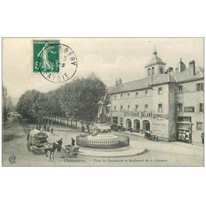 73 chambery place centenaire boulevard de la colonne for Garage auto chambery