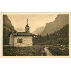 carte postale ancienne 73 PRALOGNAN. Chapelle des Neiges