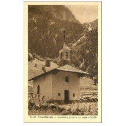 carte postale ancienne 73 PRALOGNAN. Chapelle Notre-Dame des Neiges