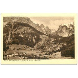 carte postale ancienne 73 PRALOGNAN. Cirque de la Vanoise