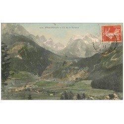 carte postale ancienne 73 PRALOGNAN. Col de la Vanoise 1911