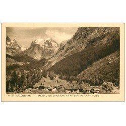 carte postale ancienne 73 PRALOGNAN. Hameau de Cholière Massif Vanoise