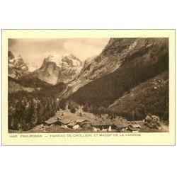 carte postale ancienne 73 PRALOGNAN. Hameau de Chollière