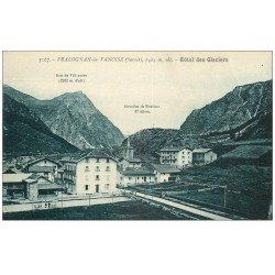carte postale ancienne 73 PRALOGNAN-LA-VANOISE. Hôtel des Glaciers