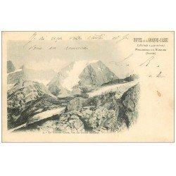 carte postale ancienne 73 PRALOGNAN-LA-VANOISE. La Grande-Casse 1905