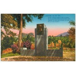 carte postale ancienne 73 TRESSERVE. Monument Lamartine