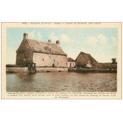 carte postale ancienne 56 ARZON. Moulin de Pencastel