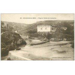 carte postale ancienne 56 BELLE-ILE-EN-MER. Avant Port. Le Palais