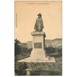 carte postale ancienne 07 ANNONAY. Statue Boissy d'Anglas