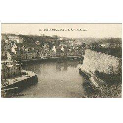 carte postale ancienne 56 BELLE-ILE-EN-MER. Le Port d'échouage