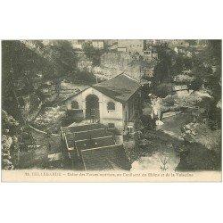 carte postale ancienne 01 Bellegarde. Usine des Forces motrices Rhône et Valserine