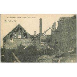carte postale ancienne 02 BERRY-AU-BAC. La Brasserie Soldats démineurs 1917