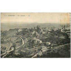 carte postale ancienne 07 AUBENAS. Le Village (timbre absent)...