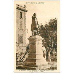 carte postale ancienne 07 BOURG-SAINT-ANDEOL. Madier de Montjau Place de la Mairie Député Tribun