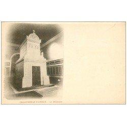 carte postale ancienne 56 CHARTREUSE D'AURAY. Le Mausolée vers 1900