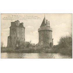 carte postale ancienne 56 ELVEN. La Forteresse de Largoët 1931