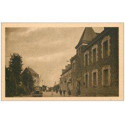 carte postale ancienne 56 GUER. La Gendarmerie