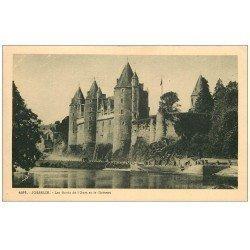 carte postale ancienne 56 JOSSELIN. Château 4576