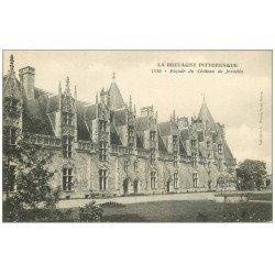 carte postale ancienne 56 JOSSELIN. Château 7530