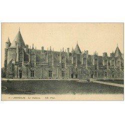 carte postale ancienne 56 JOSSELIN. Château N.D Phot
