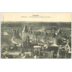 carte postale ancienne 56 JOSSELIN. Château vue ensemble