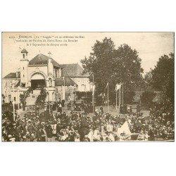 carte postale ancienne 56 JOSSELIN. La Loggia. Fêtes Pardon Notre-Dame du Roncier 1932