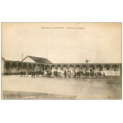 carte postale ancienne 56 KERPAPE. Pavillon de Garçons au Sanatorium