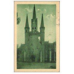 carte postale ancienne 56 LE FAOUËT. Chapelle Saint-Fiacre 1931