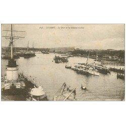 carte postale ancienne 56 LORIENT. Port et Défense mobile 1931